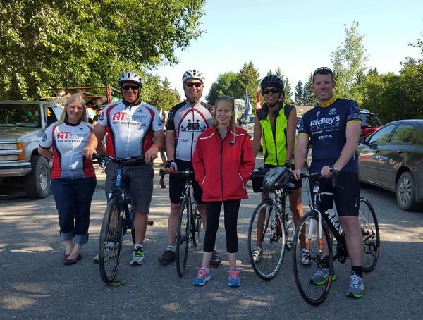 15.07.18 Ride for Horizon Team with Nicole Wuetherick